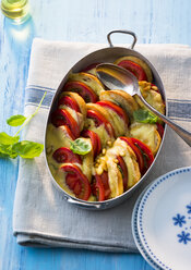 Au gratin with tomatoes and bread - PPXF00104