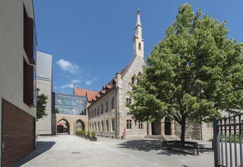Germany, Erfurt, view to Augustinian monastery - HWOF00236