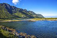 Norway, Lofotes, Vestvagoy, landscape near Leknes - PUF00808