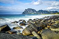 Norway, Lofotes, Vestvagoy, Utakleiv beach - PUF00811