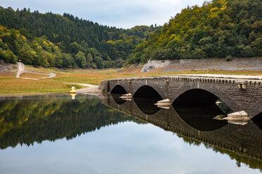 Germany, Hesse, Asel, Edersee, Aseler bridge - SRF00888