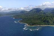 USA, Hawaii, Kauai, North Coast, aerial view - HLF01044