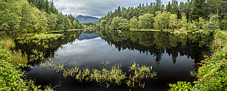 Great Britain, Scotland, Lake Glencoe Lochan, Glen Coe National Park - STSF01323