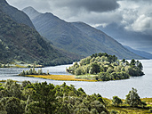 Great Britain, Scottland, Scottish Highlands, Loch Shiel, Glenfinnan - STSF01326