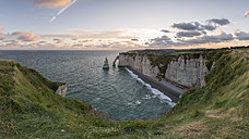 France, Normandy, Etretat, Cliffs - RPSF00010