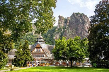 Germany, Rhineland-Palatinate, Bad Kreuznach, Bad Munster am Stein-Ebernburg - PUF00883