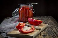 Pickled roasted bell pepper - LVF06400