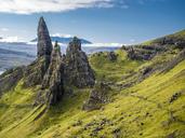 Great Britain, Scotland, Isle of Skye, The Storr - STSF01342