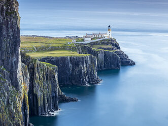Great Britain, Scotland, Isle of Skye, Lighthouse at Neist Point - STSF01348