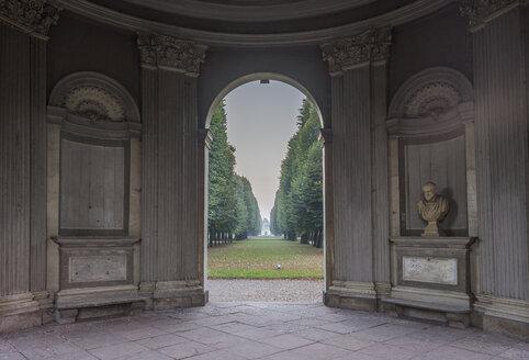 Germany, Lower Saxony, Hanover, Herrenhaeuser Gaerten, Pavillon Remy de la Fosse - PVCF01118