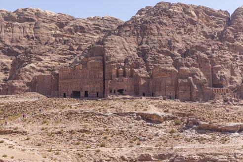 Jordania, Wadi Musa, Petra, royal tombs - MABF00467