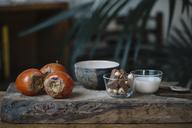 Ingredients of persimmon dessert - ALBF00184