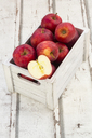 Red apples in box - LVF06405