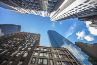 USA, New York City, skyscrapers seen from below - ZEF14666
