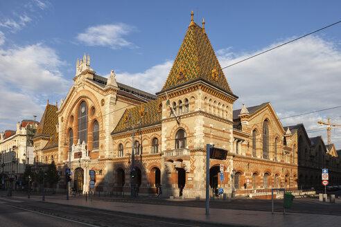 Hungary, Budapest, Great Market Hall - ABOF00324