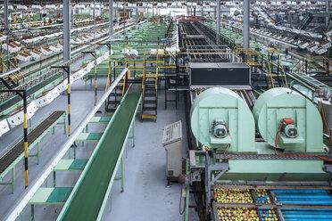 Machines in apple factory - ZEF14694