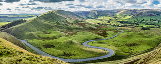 Great Britain, England, Derbyshire, Peak District, Castleton, Mam Tor - STSF01377