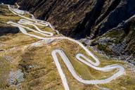 Switzerland, Tessin, Tremola, Aerial view of Gotthard Pass - STSF01385