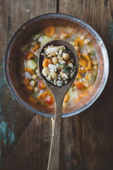 Spoon and Mediterranean soup - GIOF03288