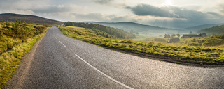 UK, Scotland, Highland, A939, Highland Tourist Route - STSF01406