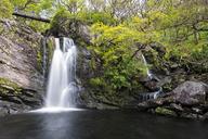 Great Britain, Scotland, Scottish Highlands, Loch Lomond, Trossachs, Waterfall of Inversnaid - FOF09463