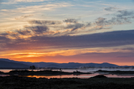 Great Britain, Scotland, Scottish Highlands, Glencoe, Rannoch Moor, Sunrise over Loch Ba - FOF09512