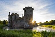 Great Britain, Scotland, Dumfries and Galloway, Caerlaverock Castle - FOF09547