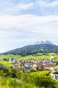 Switzerland, Grisons, Surses, Swiss Alps, Parc Ela, Mountain village Savognin - CSTF01486