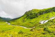 Norway, Hedmark, Tufsindalen Valley, Waterfall - CSTF01492