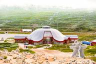 Norway, Nordland, Bodo, Saltfjellet–Svartisen National Park, Polarcircle Centrum, cairn - CST01501