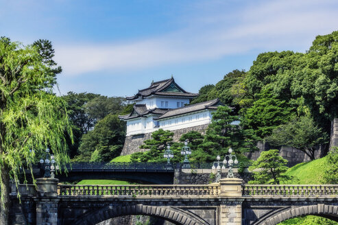 Japan, Tokyo, Chiyoda district, Imperial Palace area - THAF02069