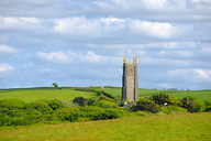 Great Britain, England, Devon, Hartland, Church in Stoke - SIEF07621