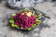 Quinoa salad with beetroot, lamb's lettuce and avocado - SARF03415