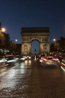 France, Paris, Arc de Triomphe de l'Etoile - CHPF00455