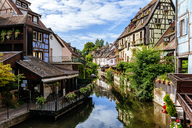 France, Colmar, half-timbered houses in Little Venice - KIJF01725