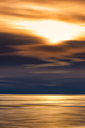 Great Britain, Scotland, Solway Firth, mud flats, sunset, abstract - SMAF00890