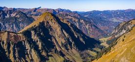 Germany, Bavaria, Allgaeu,  Allgaeu Alps, Kegelkopf and Dietersbach Valley - WGF01146