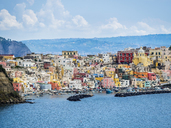 Italy, Campania, Gulf of Naples, Phlegraean Islands, Procida Island - AMF05553