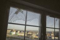 Plastic foil on window - KMKF00090
