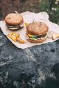 Fresh burger on stamp - VPIF00296
