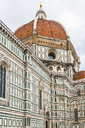 Italy, Tuscany, Florence, Santa Maria del Fiore, facade and cupola - CSTF01533