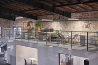 Interior of a modern industrial style loft office - WESTF23780