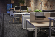 Interior of a modern industrial style loft office - WESTF23867