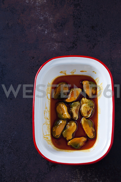Bowl of blue mussel in Escabeche Sauce - CSF28651