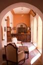 India, Rajasthan, Alwar, Heritage Hotel Ram Bihari Palace, lobby - NDF00730