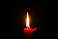 Candle light, red candle - JTF00872