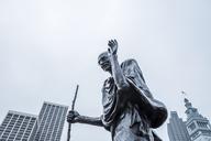 USA, California, San Francisco, Statue of Mahatma Gandhi - WV00871