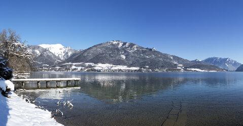 Austria, Styria, Salzkammergut, St. Wolfgang, Lake Wolfgangsee, Mountain Schafberg - WWF03991