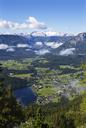 Austria, Styria, Salzkammergut, Ausseerland, Altaussee, Lake Altausseer See and Dachstein - WWF04025