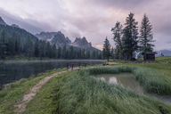 Italy, Alps, Dolomite, Lago d'Antorno, Parco Naturale Tre Cime - RPSF00098